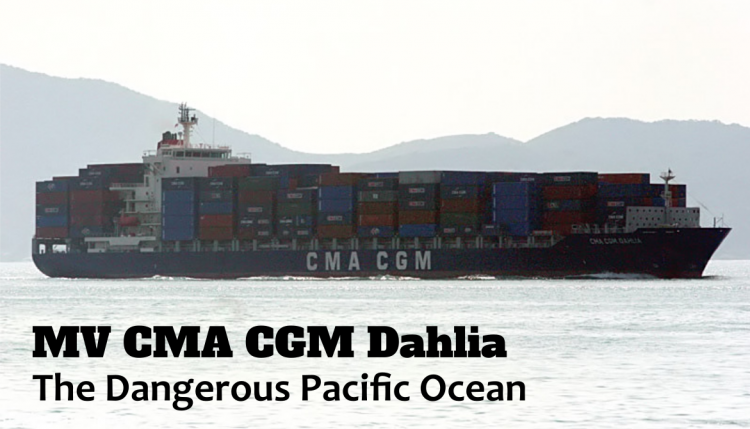 The M/V CMA CGM Dahlia shipping disaster is another example of how dangerous the ocean can be.