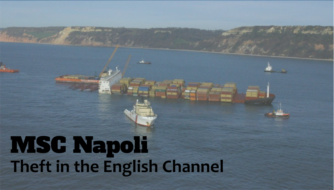 MSC Napoli: Theft in the English Channel