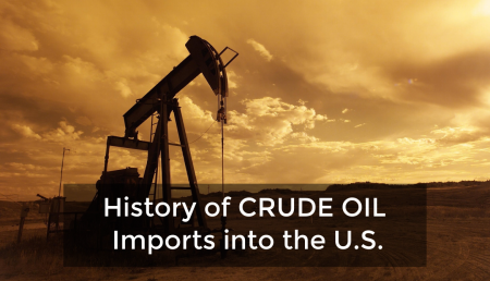 The Crude Oil trade is one of the largest in the world. Learn about how much Crude Oil is imported into the United States.