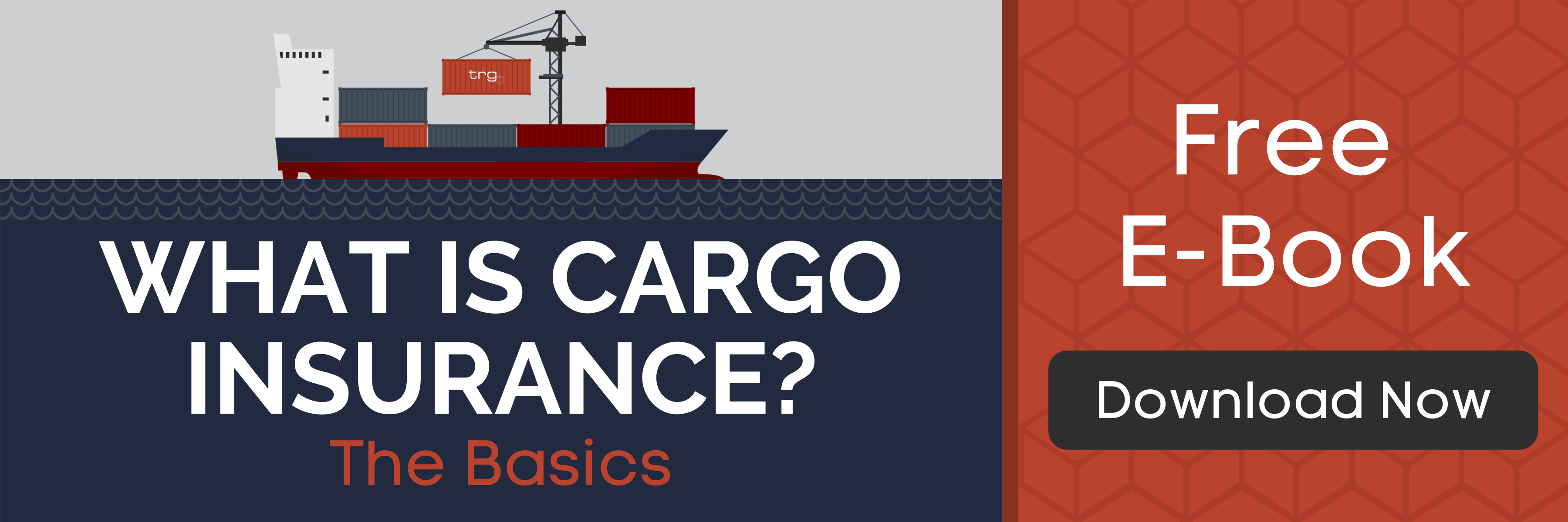 Learn more about Marine Cargo Insurance with a free PDF from Trade Risk Guaranty.