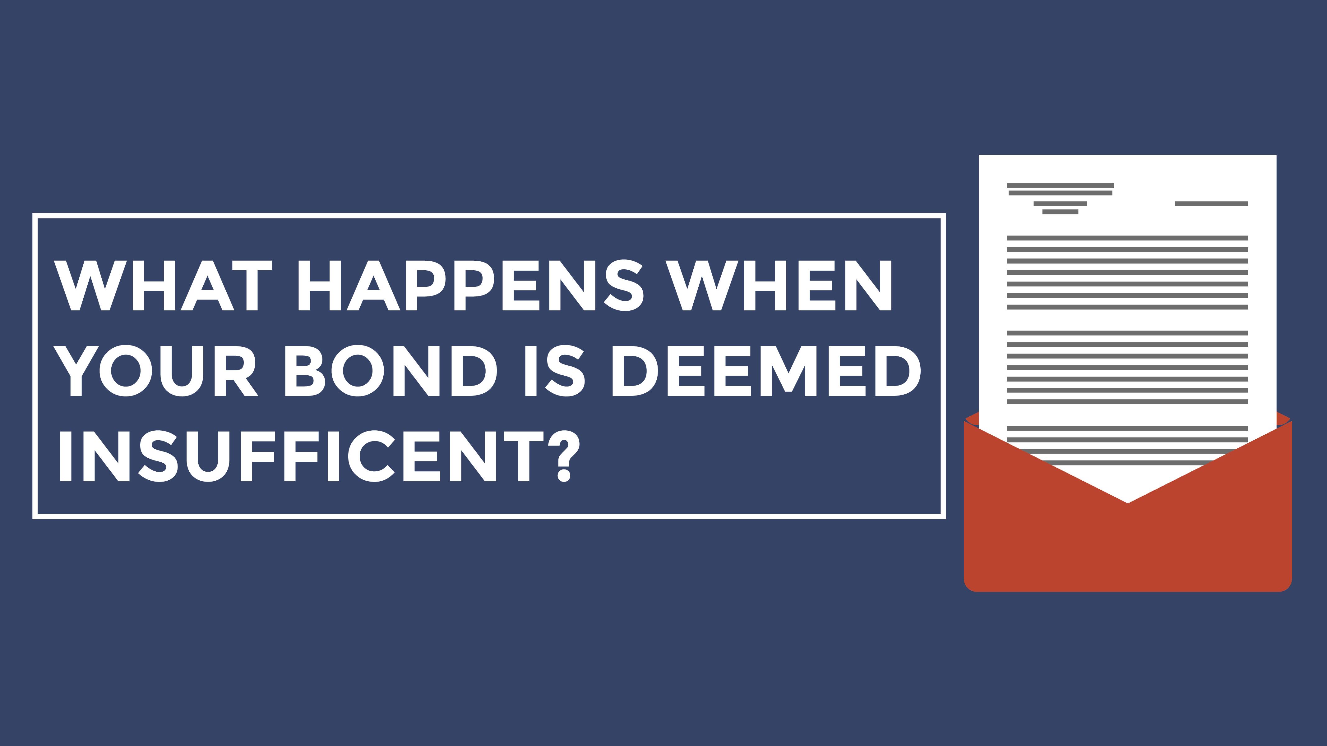 [Video] A Breakdown of a Customs Bond Insufficiency Letter