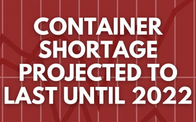 Container Shortage Projected to Last Until 2022